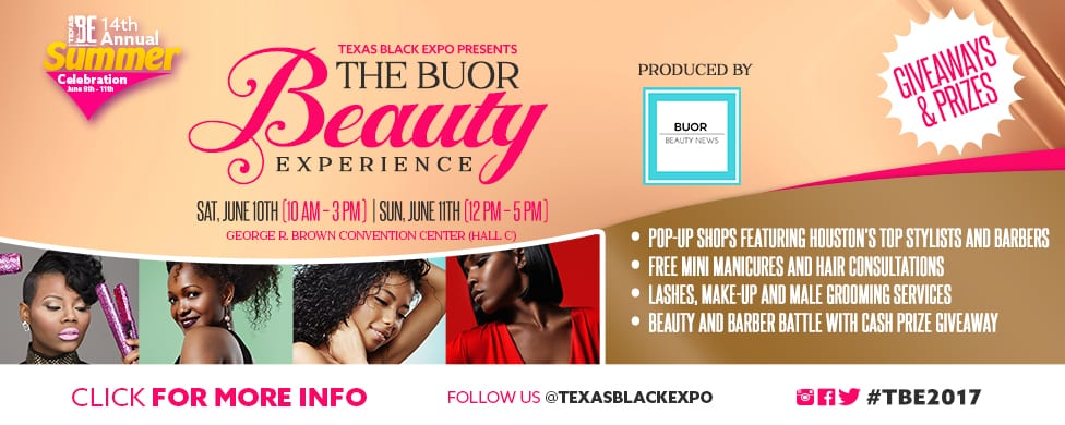 The Buor Beauty Experience Banner