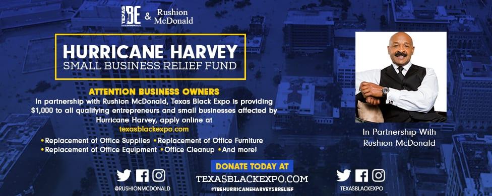 Hurricane Harvey Relief Fund Banner Alt